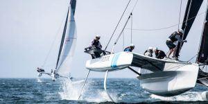 DNA-Performance-Sailing-TF10-foiling-multihull-trimaran-racing-Sail-Newport-Regatta-2019-ph-tf10-©paultodd