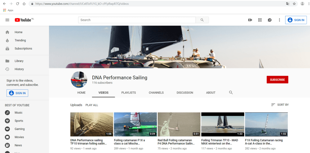 DNA-Performance-Sailing-youtube-channel-homepage-great-videos-foiling-multihulls-catamaran-trimaran-passionated-boatbuilders